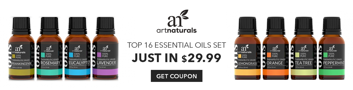 Our Top 16 Essential Oils Set Just In $29 Buy Today