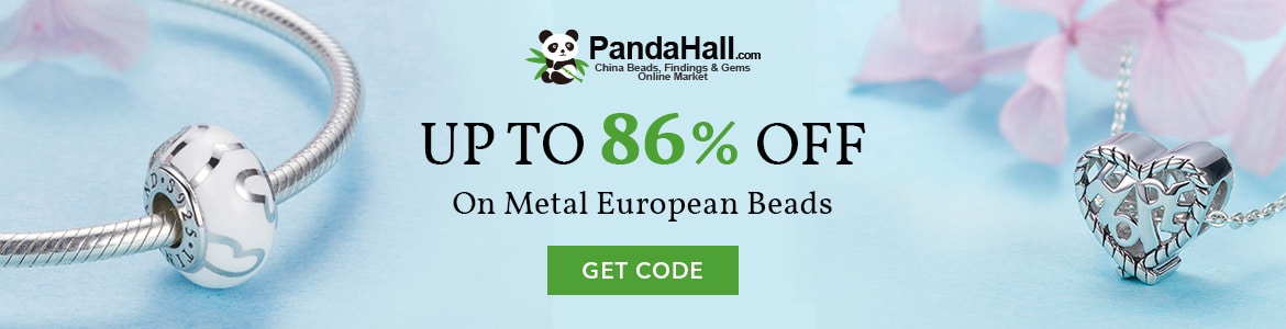 Save Upto 86% OFF On Metal European Beads. Add To Cart Now