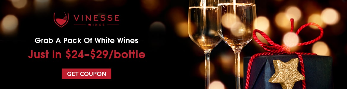 Grab A Pack Of White Wines Just In $24 $29 bottle Including tax & Delivery