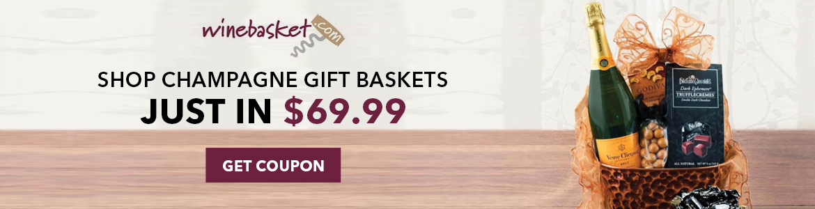 Shop Champagne Gift Baskets Just In $69.99