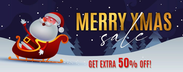 Christmas Sale - The Extra Discount